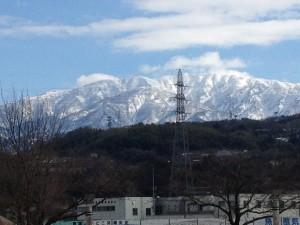 立山連峰2015.01.24.